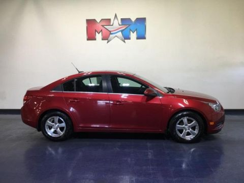 Pre-Owned 2012 Chevrolet Cruze 4dr Sdn LT w/1LT