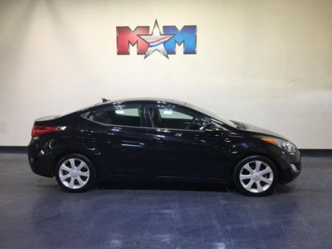 Pre-Owned 2013 Hyundai Elantra 4dr Sdn Auto Limited PZEV